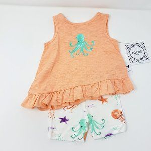 Focus Kids Octopus Print Outfit